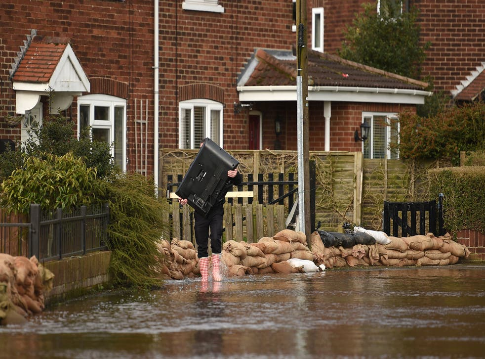<p>Over the last decade, more than 120,000 new homes in England and Wales were built in flood-prone areas, according to the researchers</p>