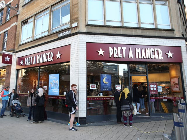 Bristol Crown Court has heard student Isobel Colnaghi suffered a severe allergic reaction after eating a Pret A Manger sandwich