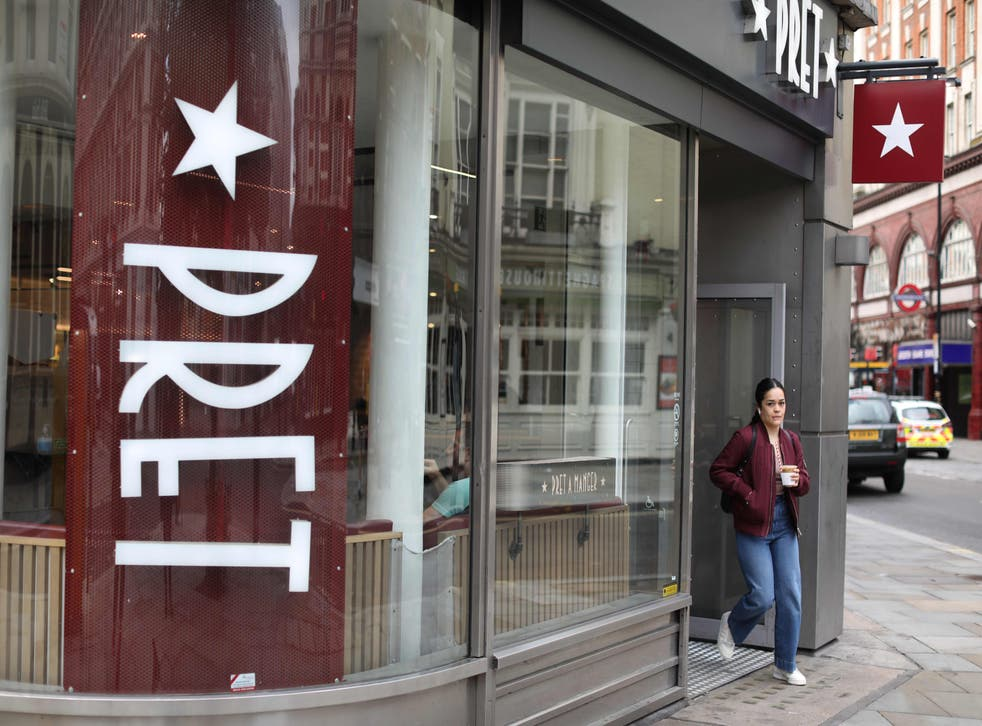 <p>'Every week, Pret a Manger tells Bloomberg how their food and drink sales are going at different locations'</p>