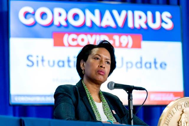 Virus Outbreak Nation's Capital