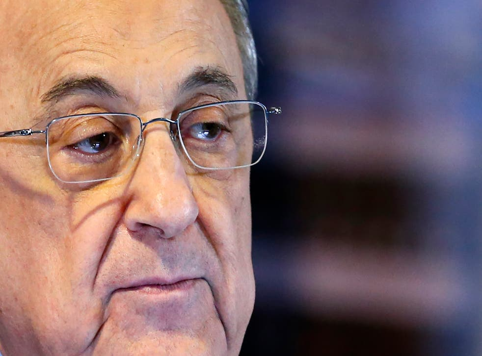 Florentino Perez remains steadfast in his belief football needs a Super League