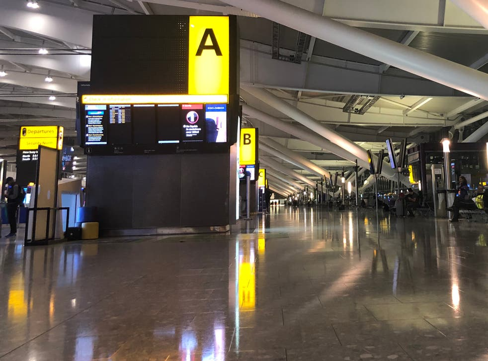 Empty quarter: Heathrow lost 92% of its passengers in February 2021 compared with a year earlier