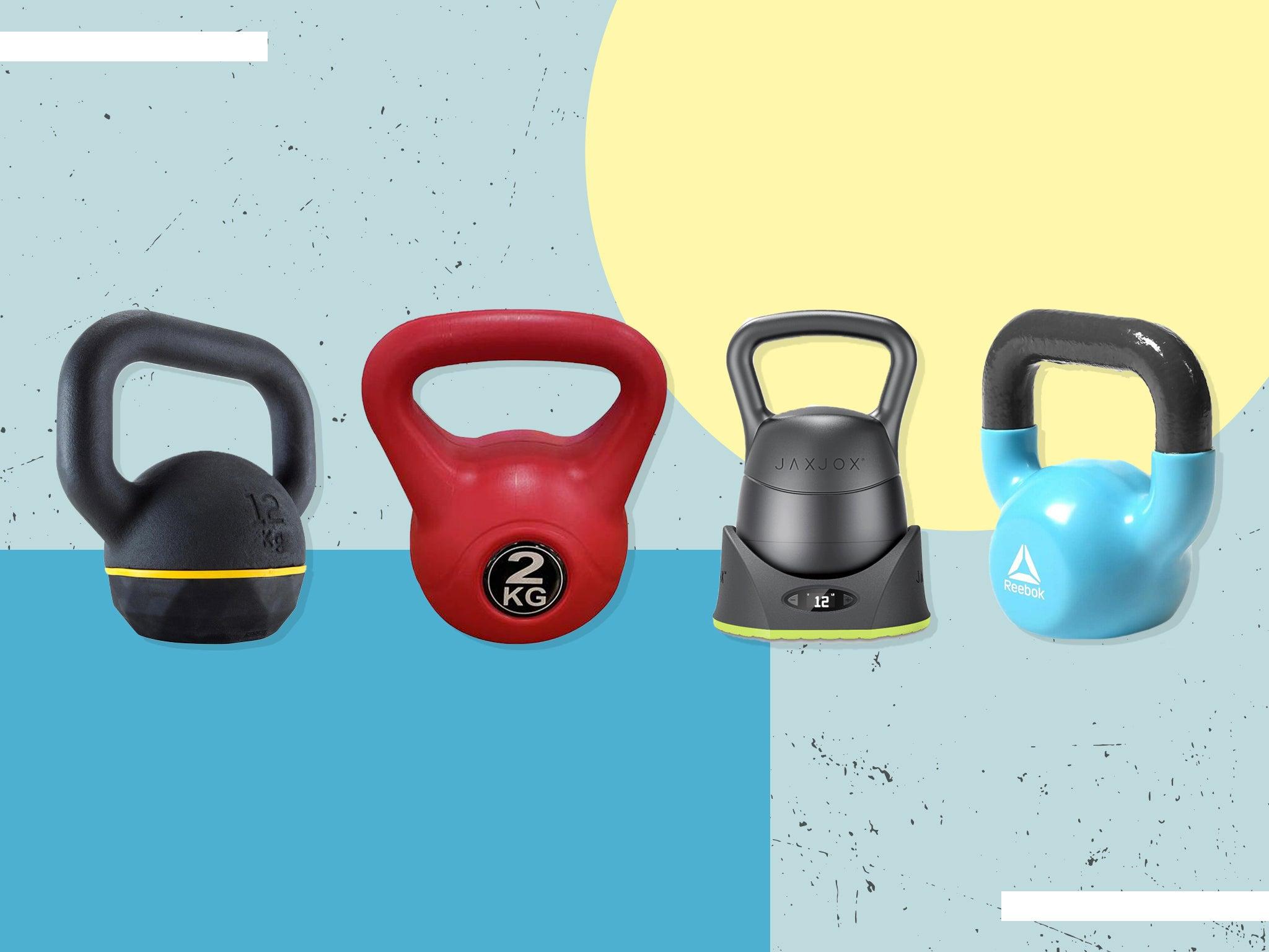 Bench Kettle Bell 10Kg Home Gym Exercise Fitness Kettlebell Equipment New