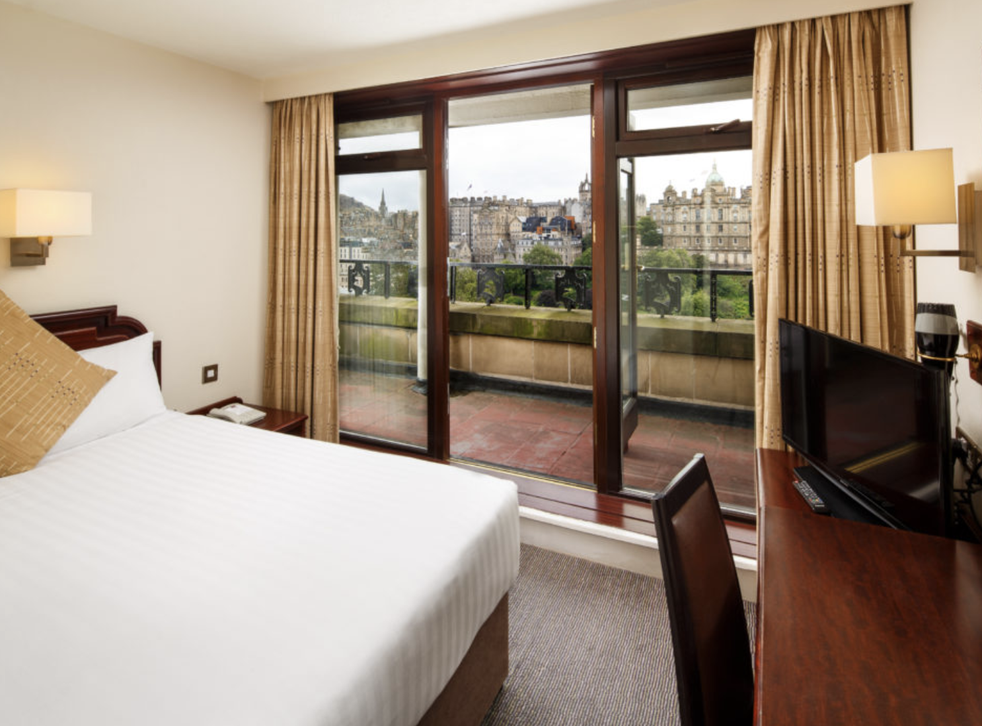 Room at the inn: the Edinburgh Mercure Princes Street is now open to all UK residents