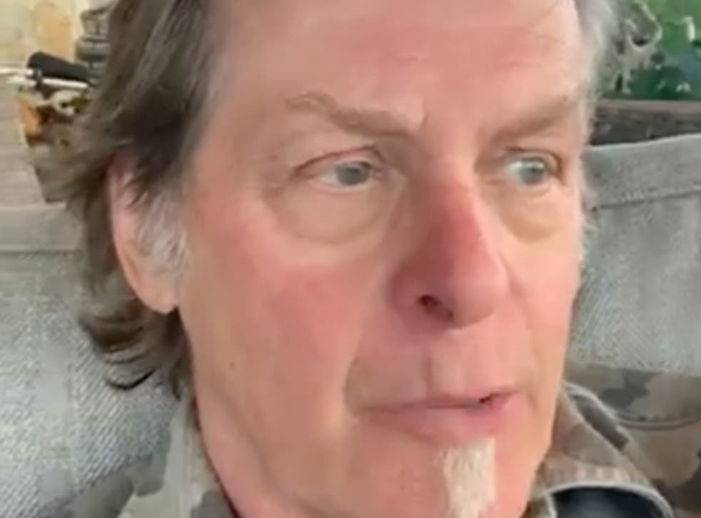 Ted Nugent shared a new Facebook Live video denouncing trolls who allegedly said they hoped he died from Covid-19