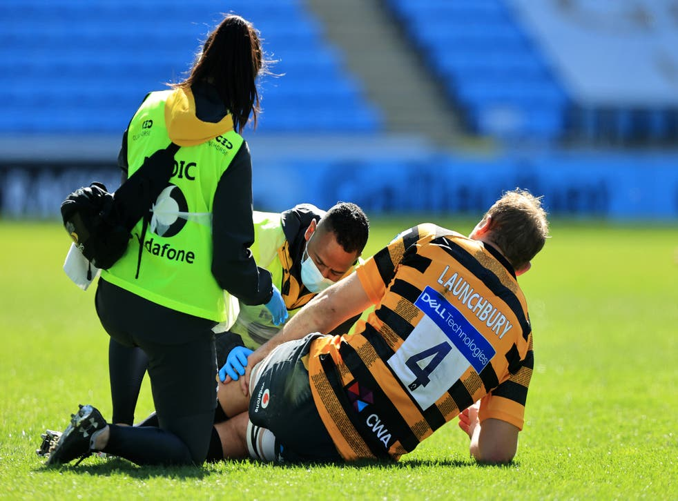 <p>Joe Launchbury suffered the injury while playing for Premiership side Wasps</p>