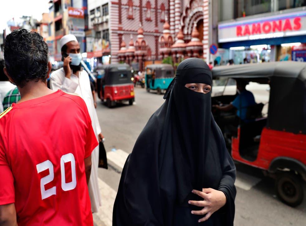 Sri Lanka Burqa Ban