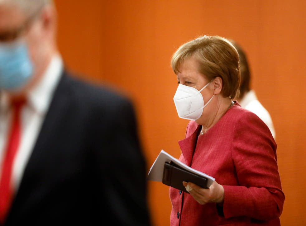 Virus Outbreak Germany Government