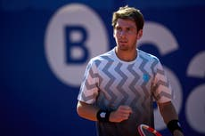 Estoril Open: Cameron Norrie off to winning start with first-round win over Joao Sousa