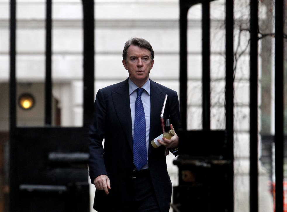 <p>A closer parallel with the Downing Street flat row today is the £373,000 lent to Peter Mandelson by Geoffrey Robinson</p>