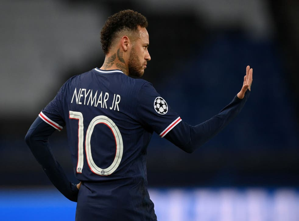 <p>PSG's expensive forward Neymar is set for a contract renewal</p>