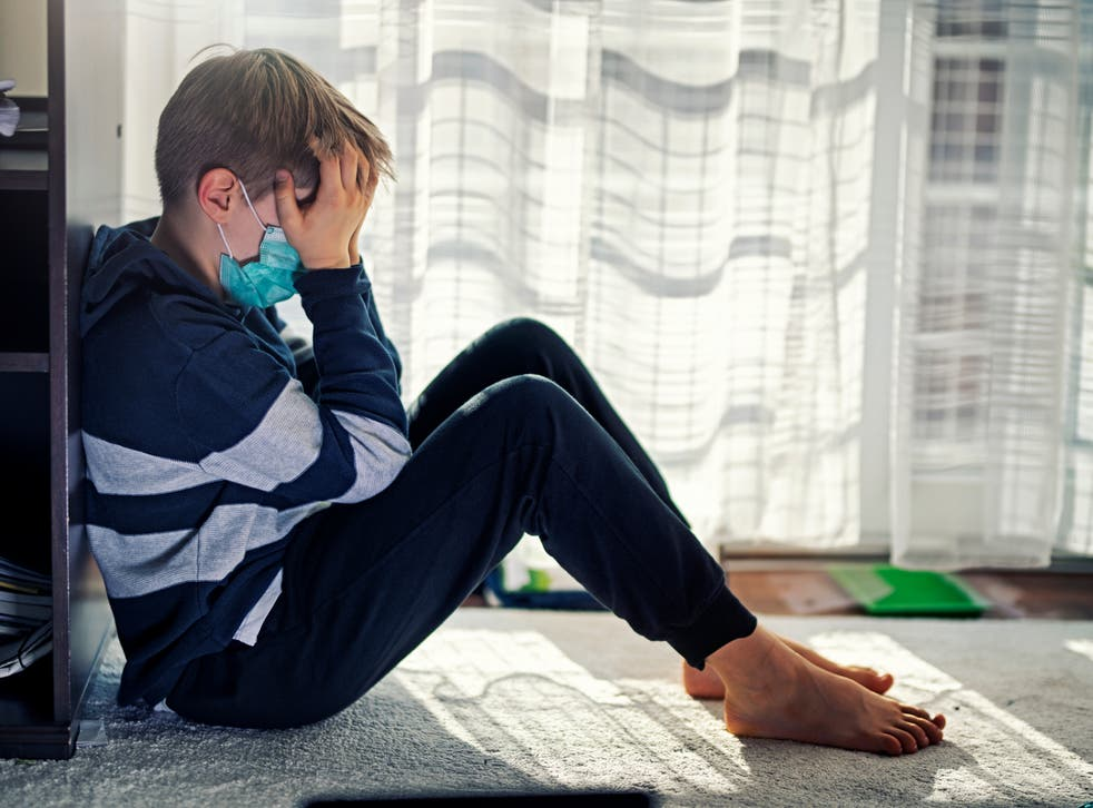 A study has found children hospitalised with coronavirus may be at risk of long Covid symptoms months after returning home.