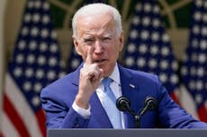 Biden joint session address - live: President to detail free preschool and tax rise for rich in speech
