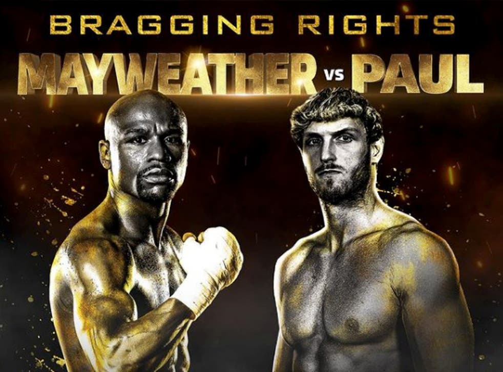 Floyd Mayweather will fight Logan Paul in an exhibition fight in June