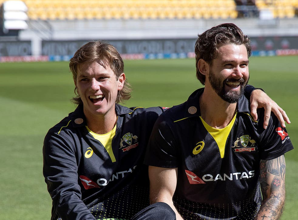 Adam Zampa and teammate Kane Richardson are still in India for the IPL