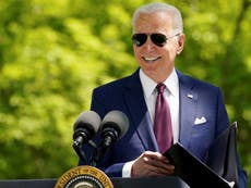 Biden speech – live: President prepares for joint address to Congress and Trump to appear on Fox