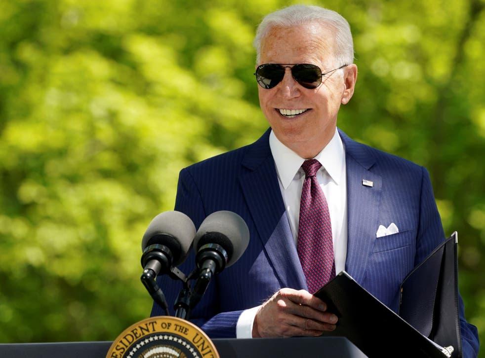 <p>A new CNN poll shows President Biden is highly popular</p>