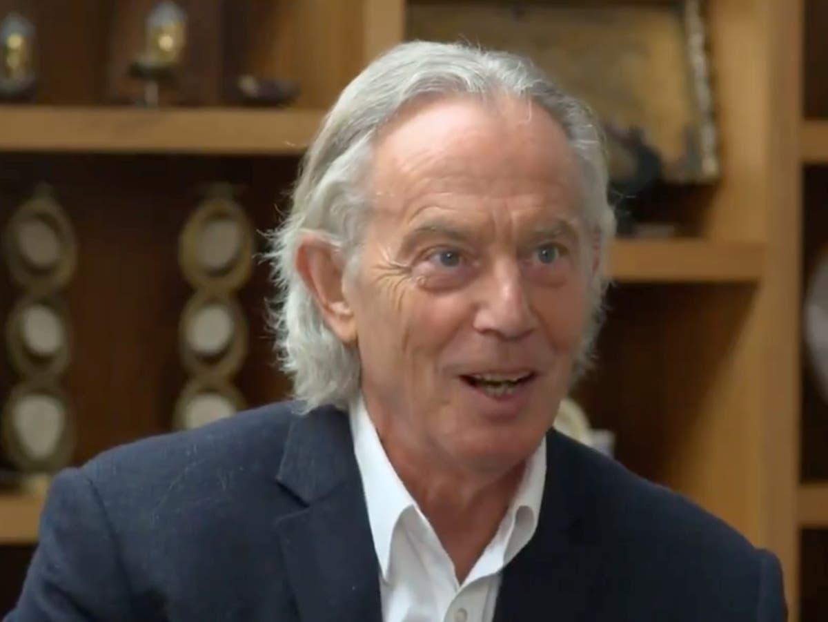 An uncut analysis of Tony Blair's hair