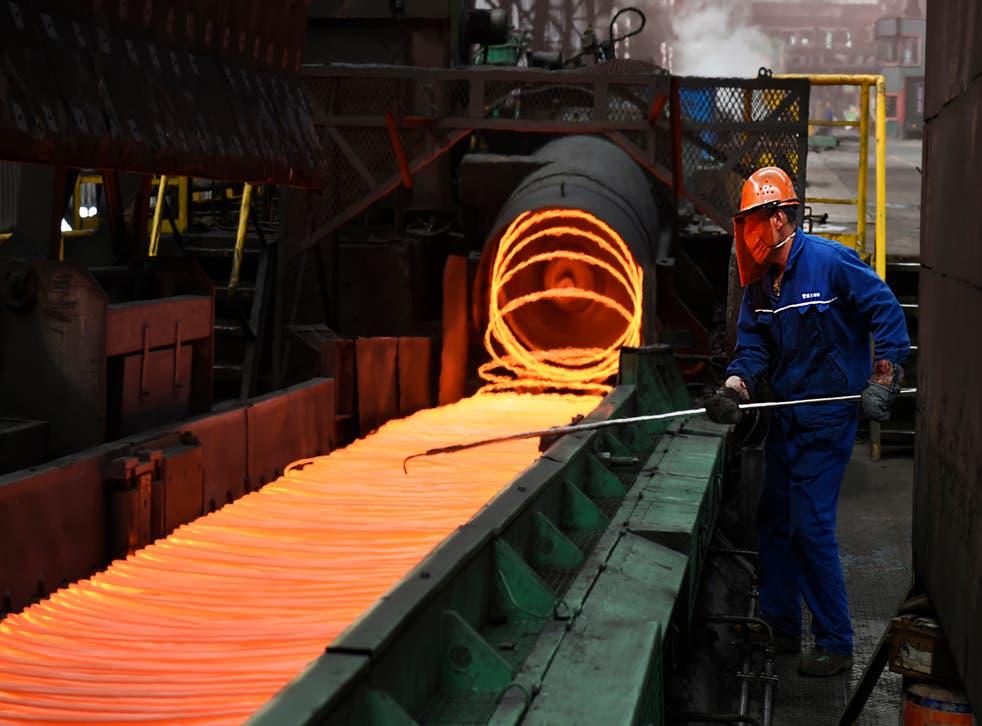 China Steel Imports