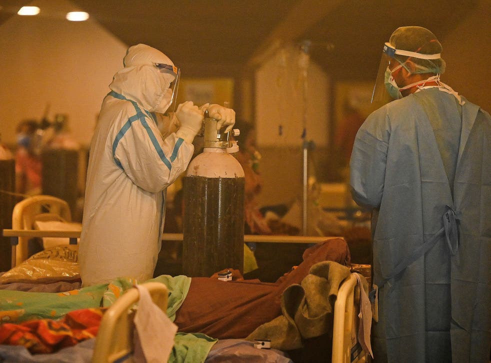 <p>Hospitals in India are running dangerously low on medical oxygen</p>