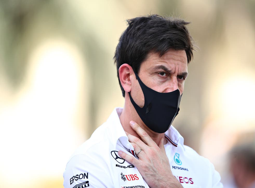<p>Toto Wolff is expecting Mercedes to be challenged again this weekend</p>