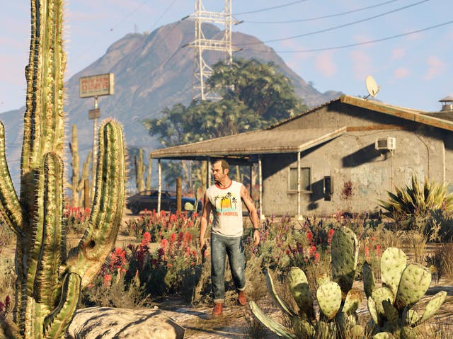 A screenshot from Grand Theft Auto V