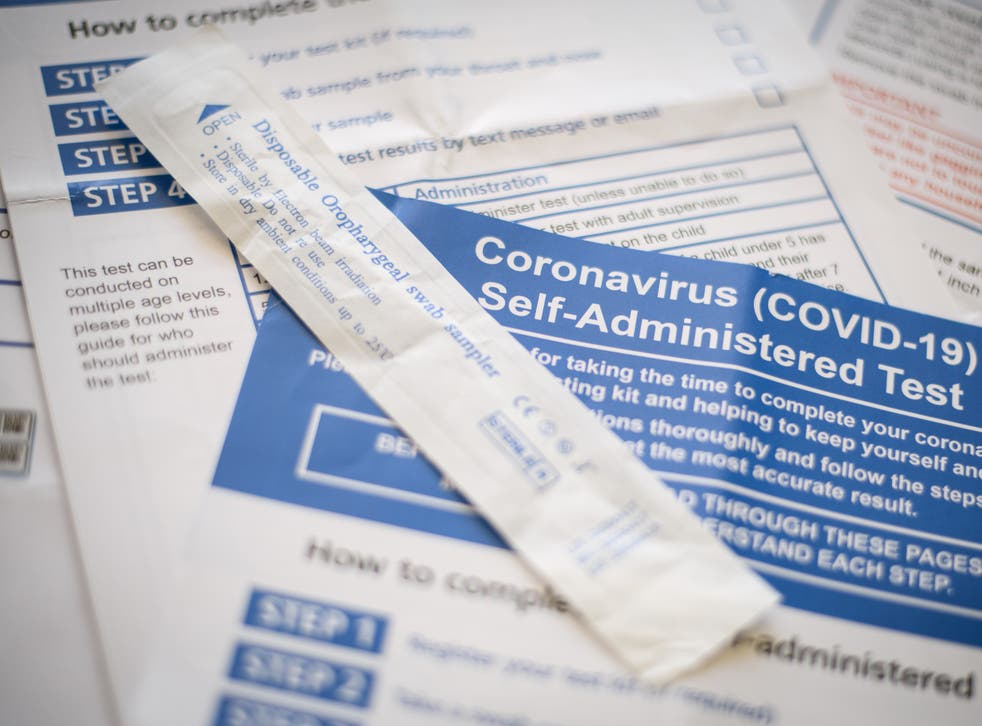 The public is being encouraged to take two rapid Covid tests a week