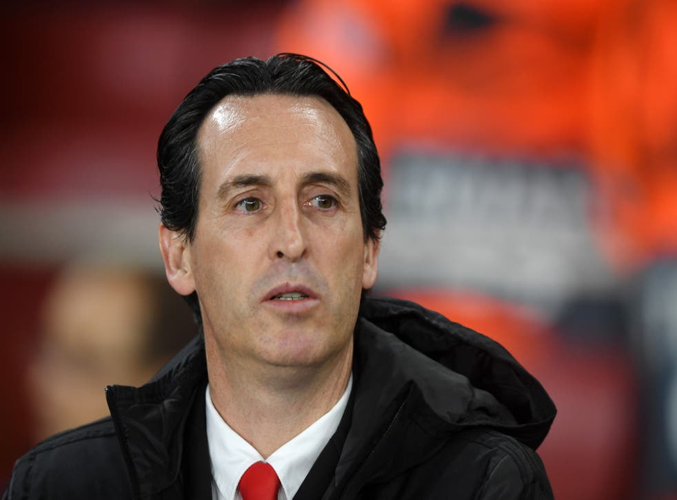 <p>Unai Emery led Arsenal to the Europa League final in 2019 but was sacked six months later</p>