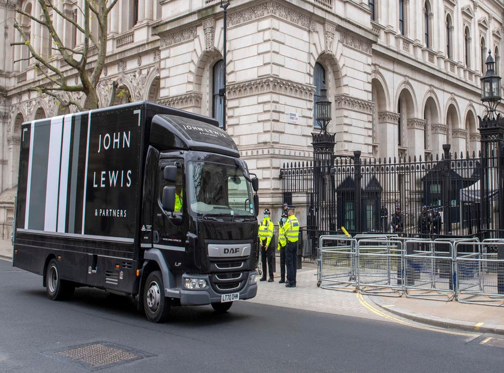 <p>John Lewis made its point to Downing Street earlier this week</p>