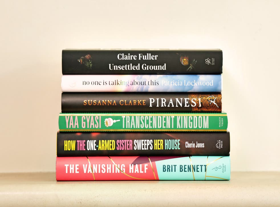 Shortlisted books for the Women's Prize