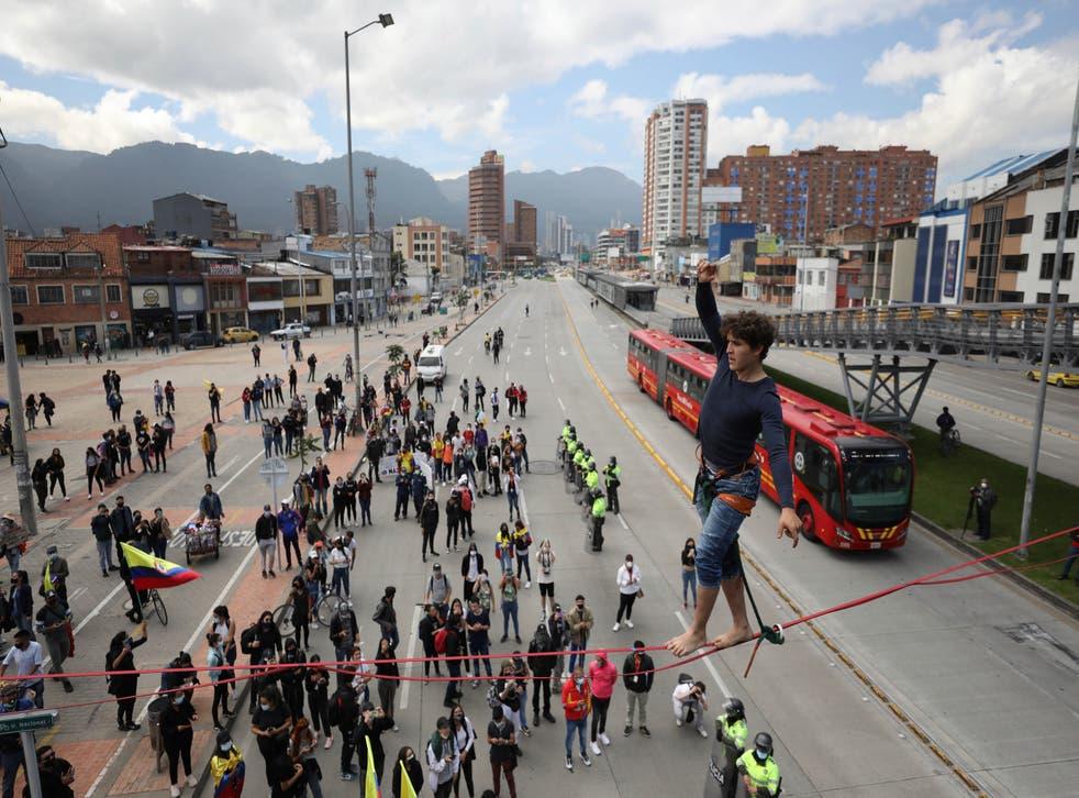 COLOMBIA-IMPUESTOS PROTESTAS