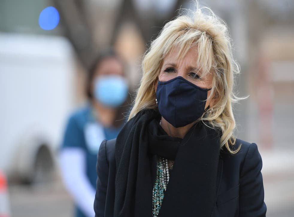 <p>First Lady Jill Biden will host five 'virtual' guests for the president's address to Congress on 28 April.</p>