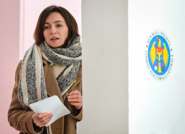 Moldova Politics Elections