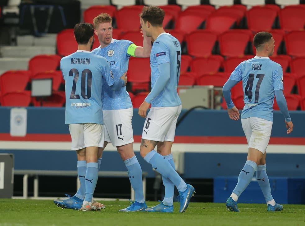 Manchester City midfielder Kevin De Bruyne