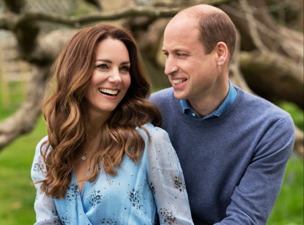 Handout photo of The Duke and Duchess of Cambridge taken at Kensington Palace this week to mark their 10th wedding anniversary