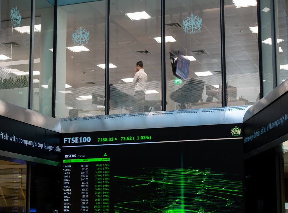 <p>Positive earnings and oil price hike helps FTSE 100 gain on Wednesday </p>