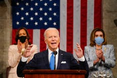 The link between West Wing and Biden's address