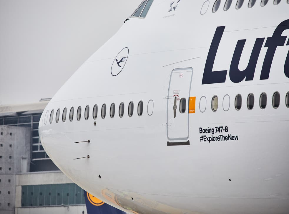 Going places: Lufthansa Boeing 747