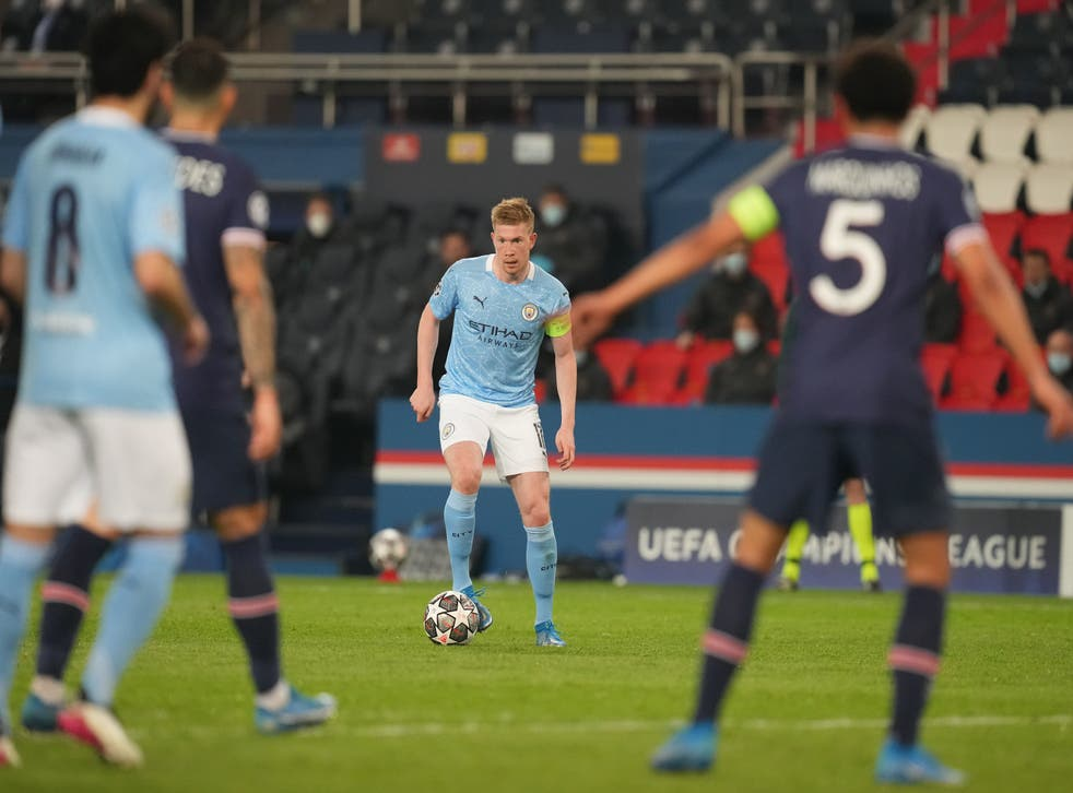 Kevin De Bruyne was at the heart of City's brilliant night