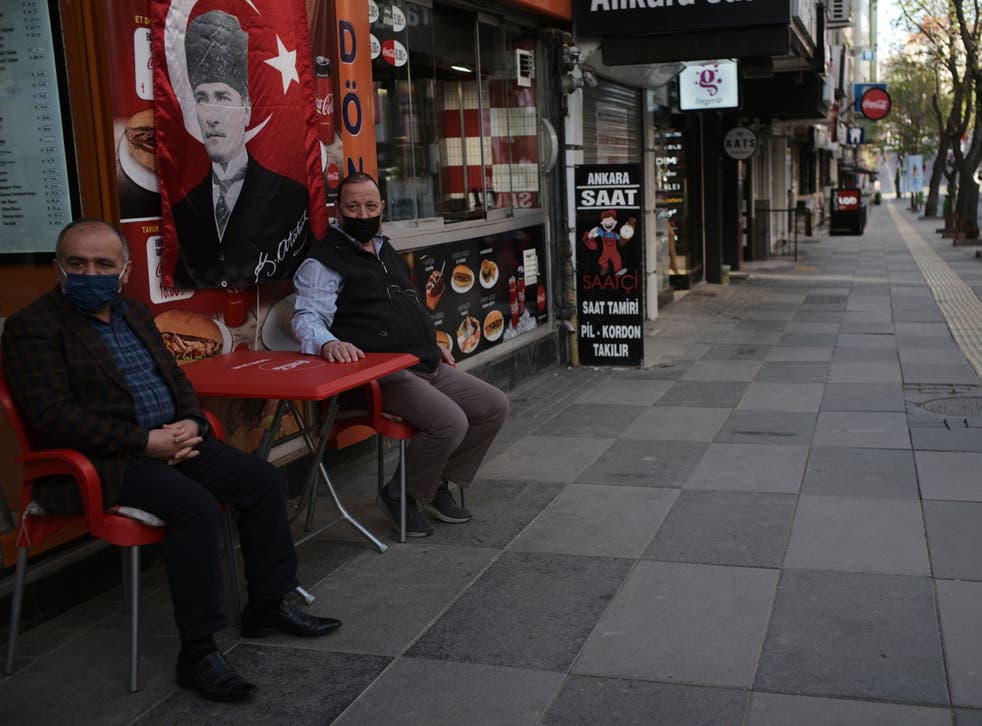 <p>Turks will be instructed to stay indoors for two-and-a-half weeks</p>