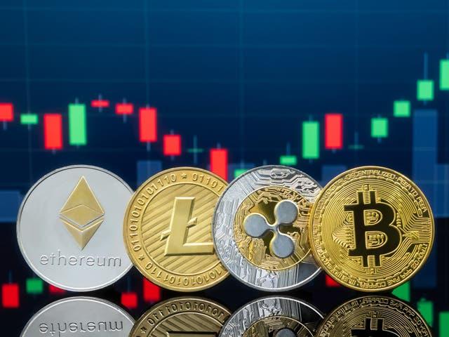 Ethereum, litecoin, ripple y bitcoin han experimentado ganancias masivas en 2021 en medio de un frenesí del mercado de criptomonedas