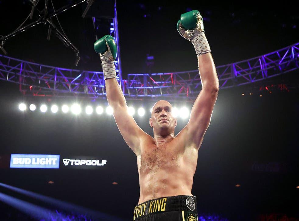 <p>Fury says he'll beat Joshua inside three rounds</p>