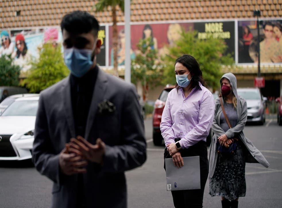 APTOPIX Virus Outbreak Las Vegas Jobs