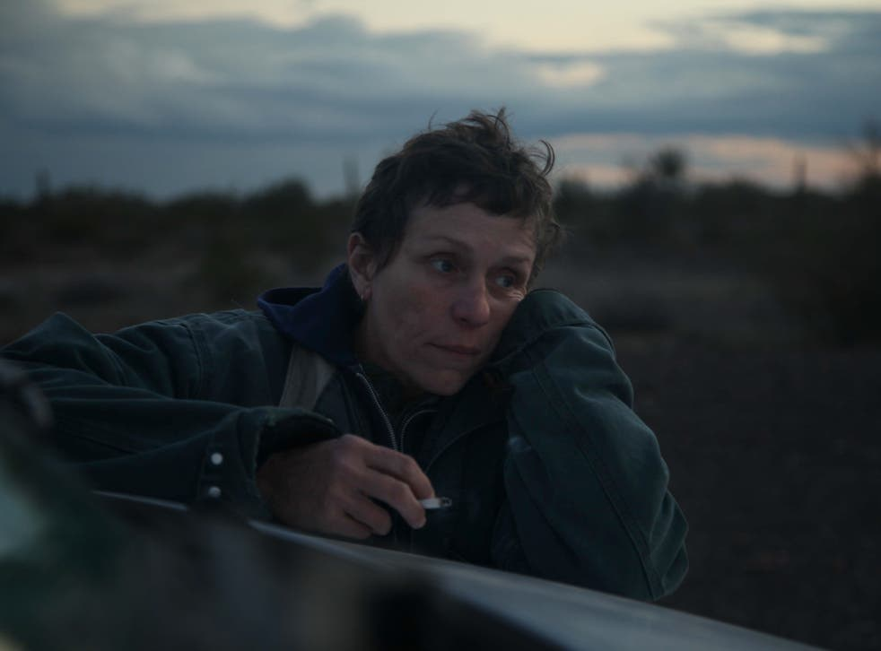 <p>Frances McDormand won an Oscar for 'Nomadland' but critics have rounded on the way the film portrays Amazon</p>
