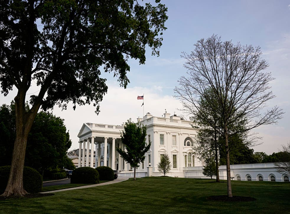 <p>The White House's iconic Rose Garden is the site of many a public address </p>