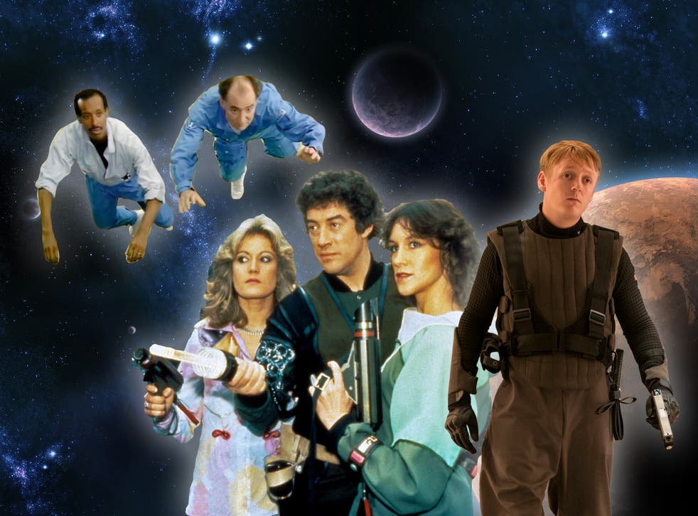 Lost in space: Erick Ray Evans and David Calder in Star Cops, Sally Knyvette, Gareth Thomas and Jan Chappell in Blake's 7, and Thomas Turgoose in Intergalactic