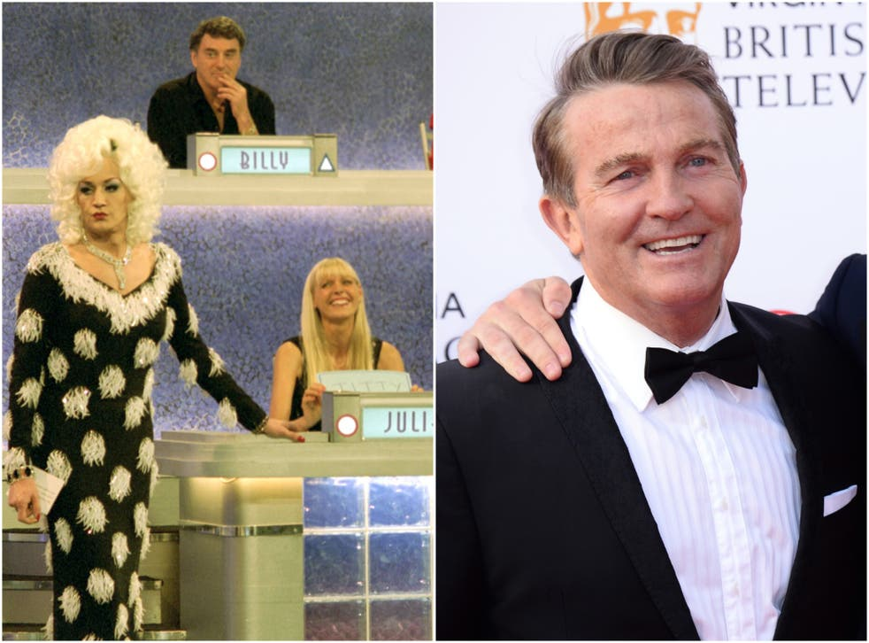 Lily Savage presents the last Blankety Blank reboot (right) and The Chase presenter Bradley Walsh