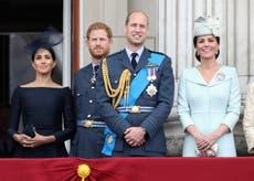 """El príncipe Harry y Meghan Markle """"felicitaron en privado"""" al príncipe William y Kate Middleton en su décimo aniversario"""