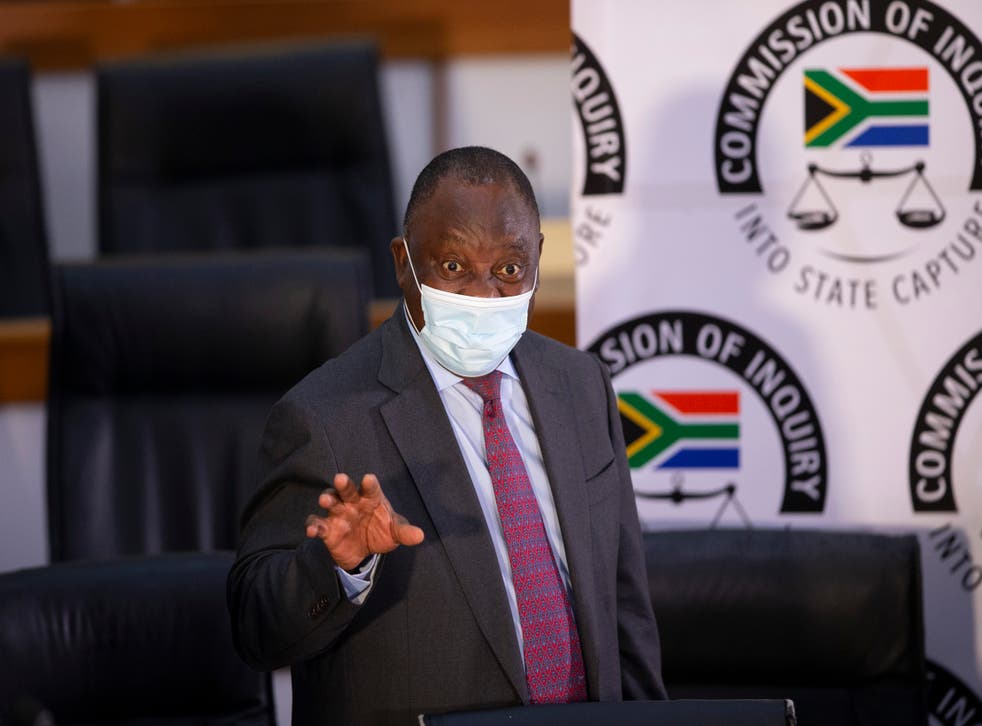 South Africa Corruption Inquiry