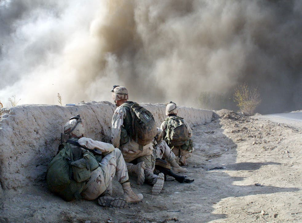 <p>The US-led invasion began in October 2001</p>
